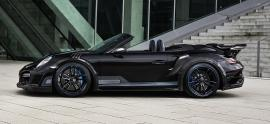 Techart GTstreet R Cabriolet - turbo na sterydach