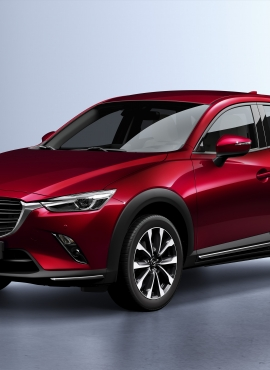 Mazda CX-3 po face liftingu - znamy cenę
