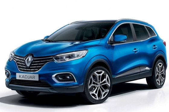 Renault Kadjar po face liftingu