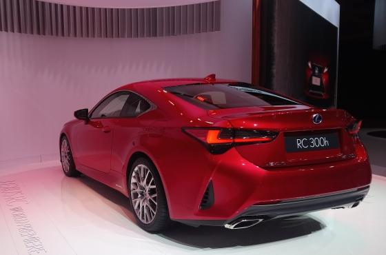 Lexus RC - Paris Motor Show 2018