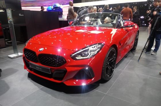 BMW Z4 – Paris Motor Show 2018