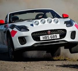 Jaguar F-Type Rally Car – rajdowy kabriolet