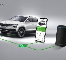 Skoda wprowadzi asystentkę głosową Alexa