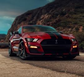 Ford Mustang Shelby GT500 w Europie