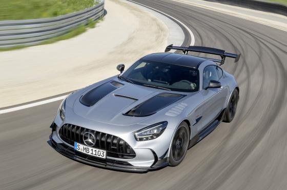 Mercedes-AMG GT Black Series - jest moc!