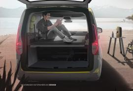 Volkswagen Caddy mini-kamper - następca Caddy Beach