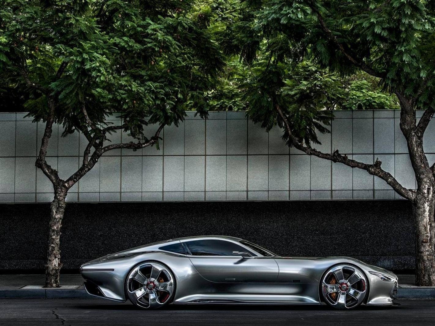 Mercedes-Benz AMG Vision Gran Turismo: na potrzeby gry