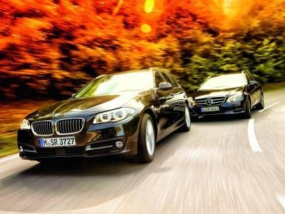BMW 518d vs Mercedes E200