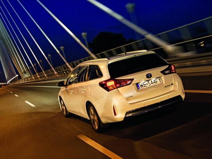 Test Toyota Auris Hybrid Touring Sports