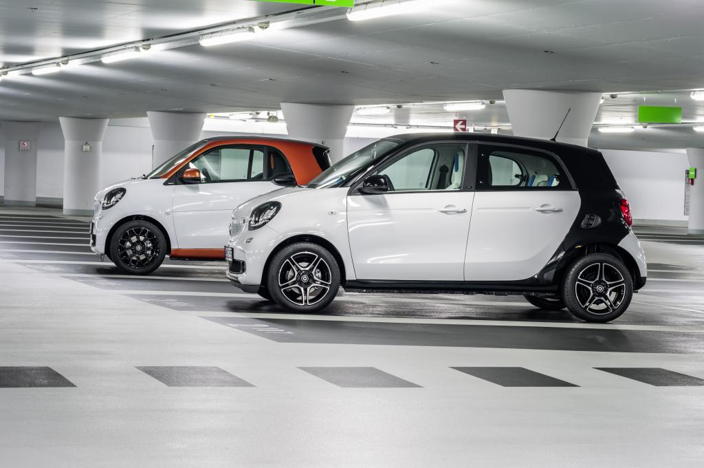 Już jest nowy Smart fortwo i forfour