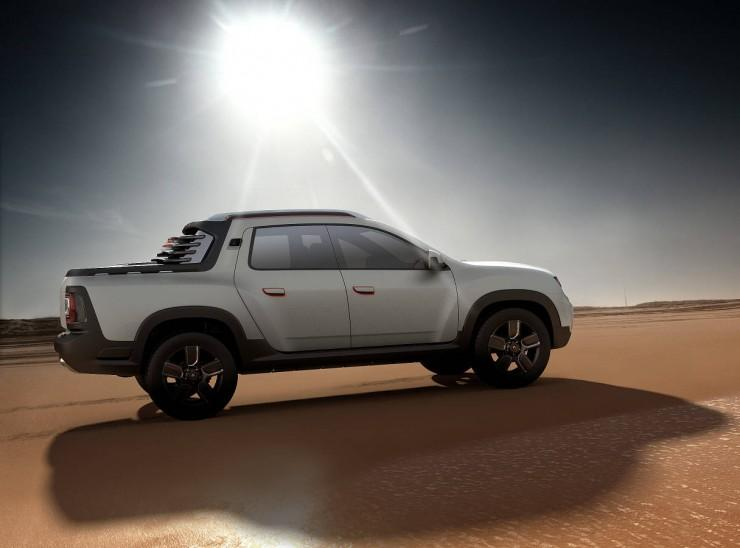 Prototyp Renault Duster Oroch