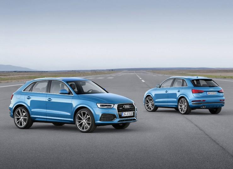 Facelifting Audi Q3 i RS Q3