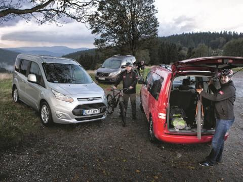 Ford Tourneo Connect, Mercedes Citan, VW Caddy  - motogazeta mojeauto.pl