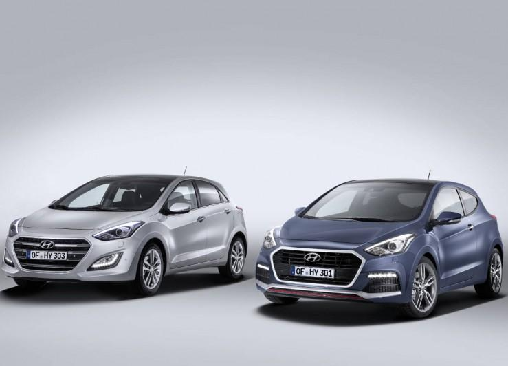 Facelifting Hyundai i30 i i30 Turbo