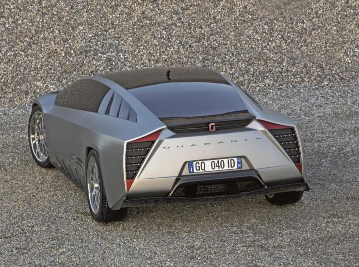 Quaranta - koncept od Italdesign