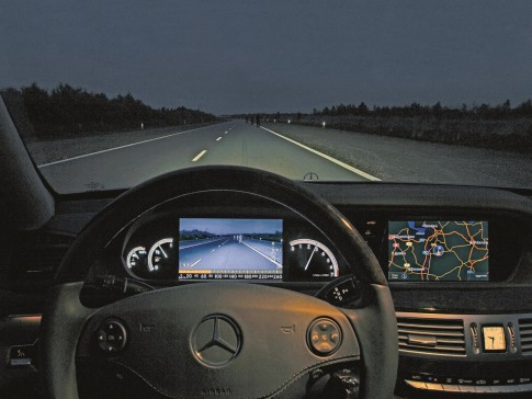 Mercedes S Night Vision