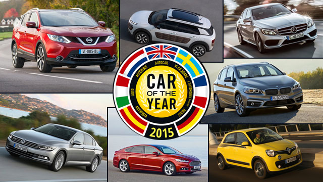 Car of The Year 2015: Siedmiu kandydantów