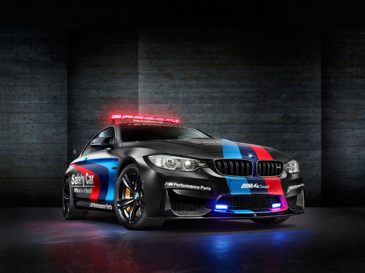 BMW M4 Coupe jako Safety Car w MotoGP 2015