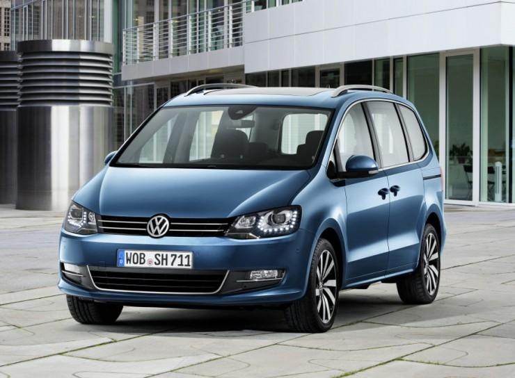 Facelifting VW Sharana
