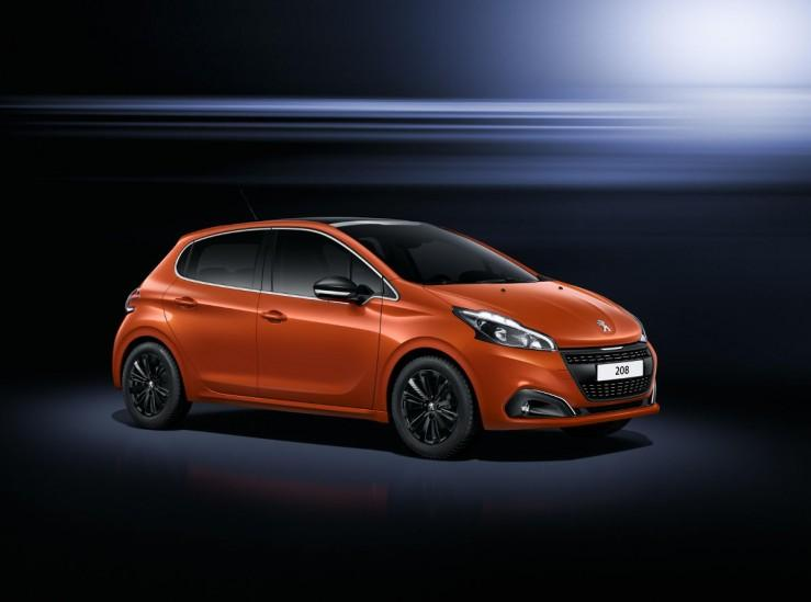 Facelifting Peugeot 208
