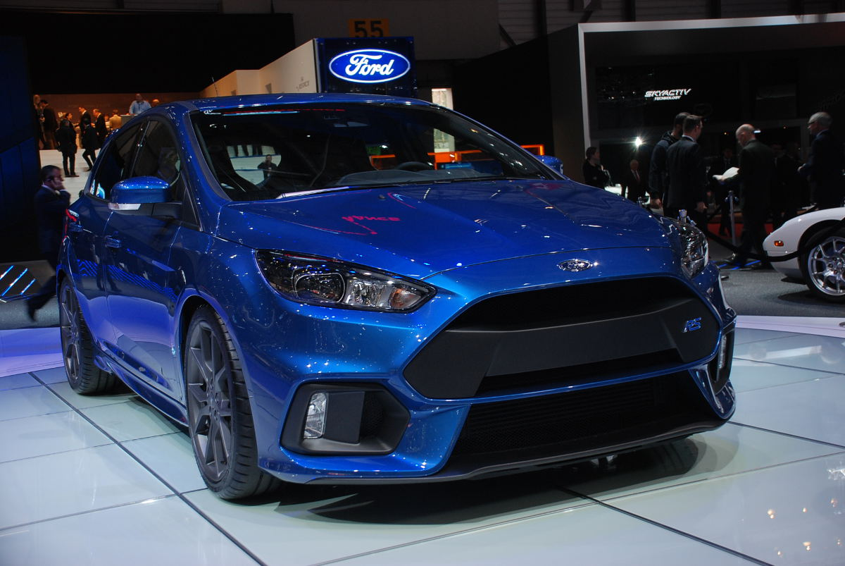 Ford Focus RS 2016 - rusza produkcja