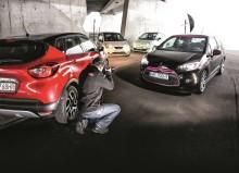 Test Citroena DS3, Fiata 500, Renault Captur, Seata Mii