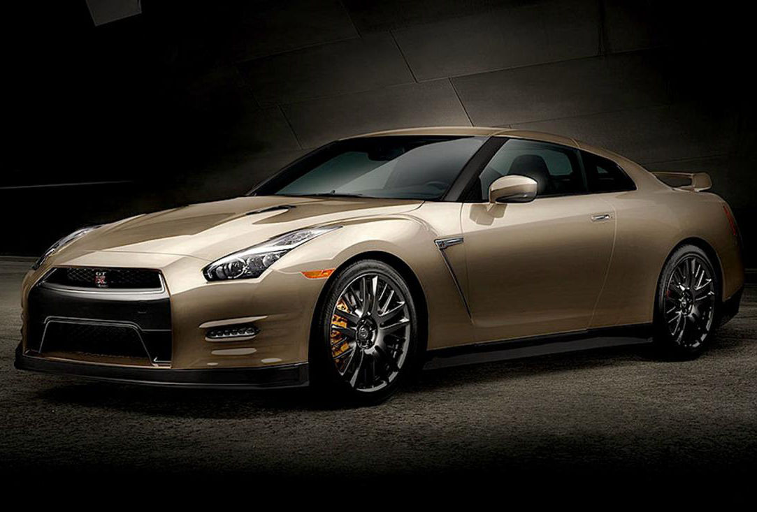 Nissan GT-R 45th Anniversary Gold Edition tylko w USA