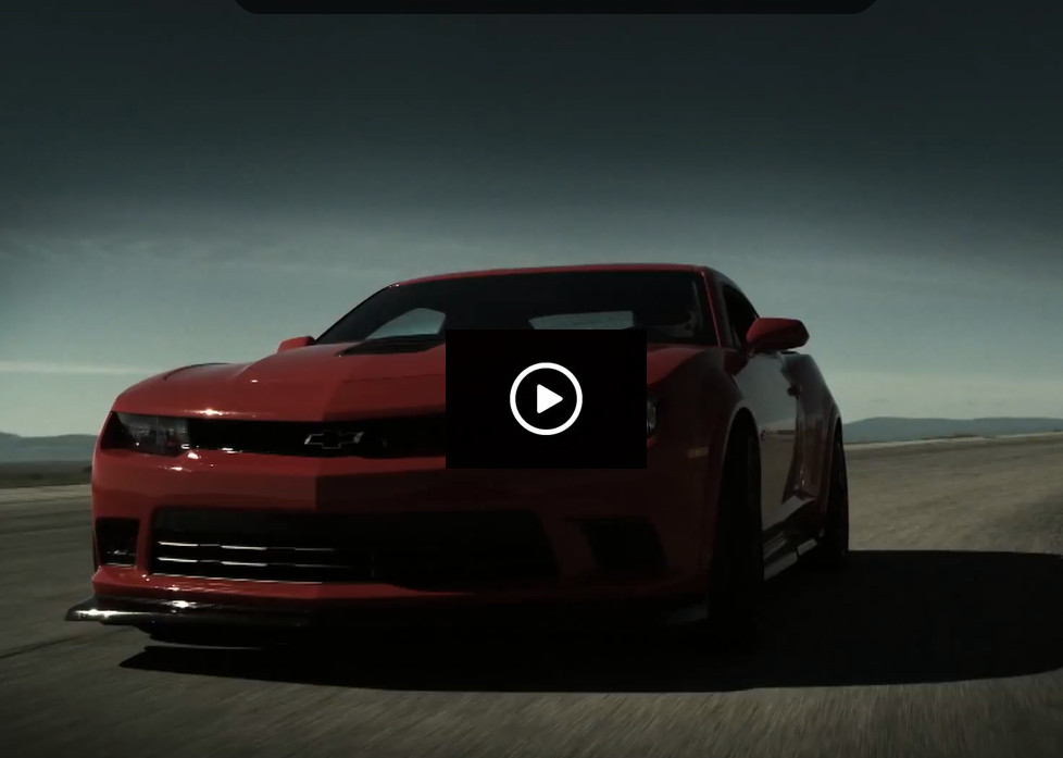 Nowy Chevrolet Camaro na video