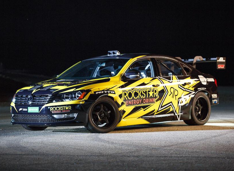 VW Passat Drift Tanner Foust | film