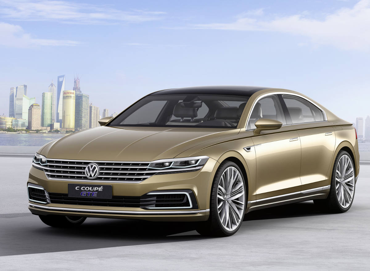 Volkswagen C Coupe GTE: Rywal dla CLS-a?