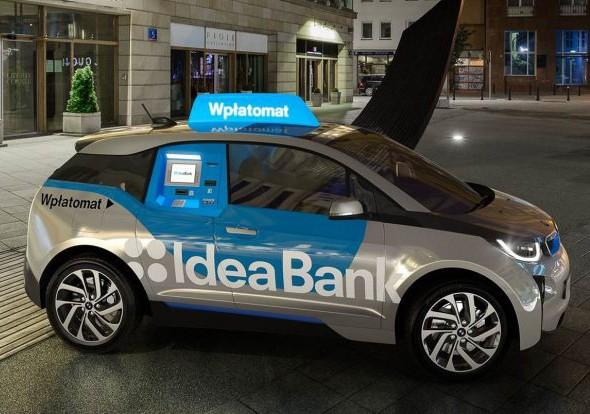 BMW i3 Idea Bank wpłatomat