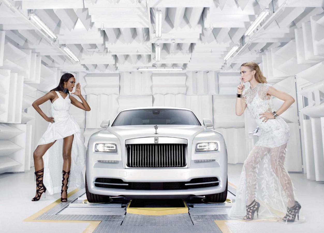 Rolls-Royce Wraith Inspired by Fashion: Designerskie coupe