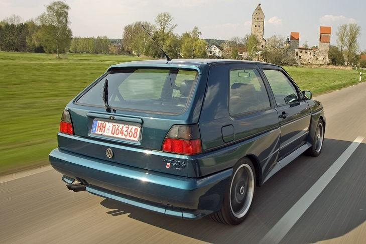 VW II Rallye Golf