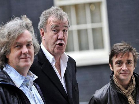 May, Hammond i Clarkson Live