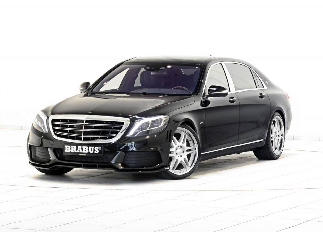 Mercedes-Maybach S600 od Brabusa