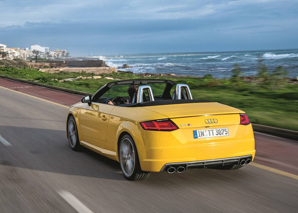 Test Audi TTS Roadster: Dla Playboya