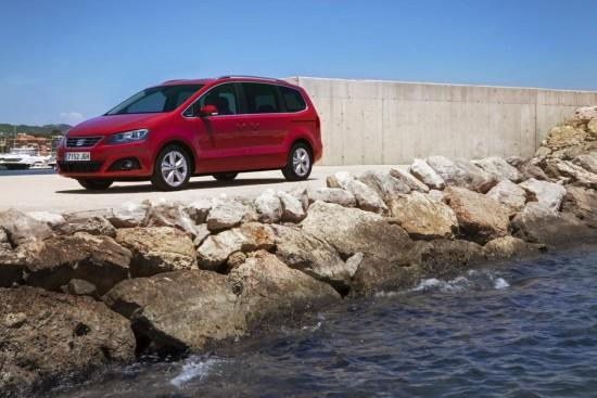 Seat Alhambra facelifting