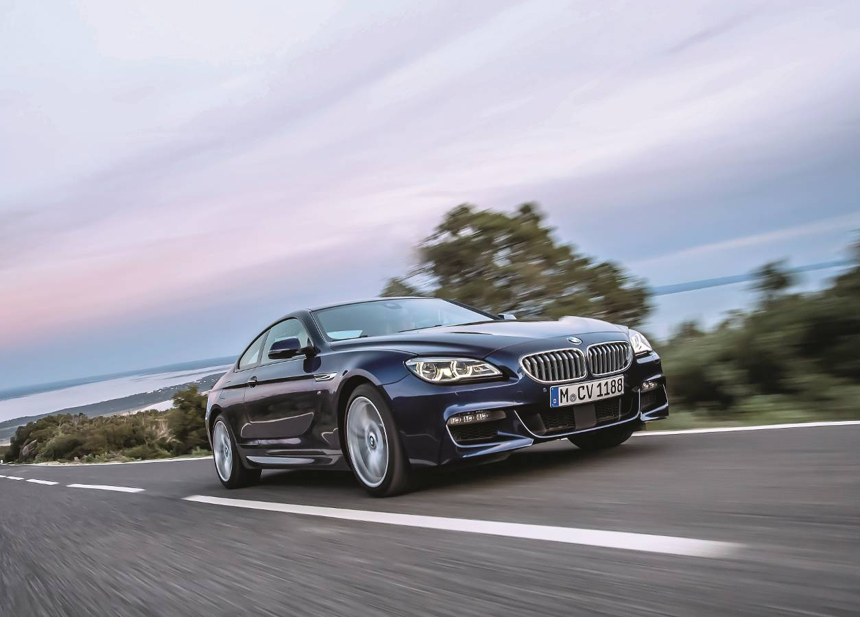 BMW 640i Coupe facelifting: Niby nic...