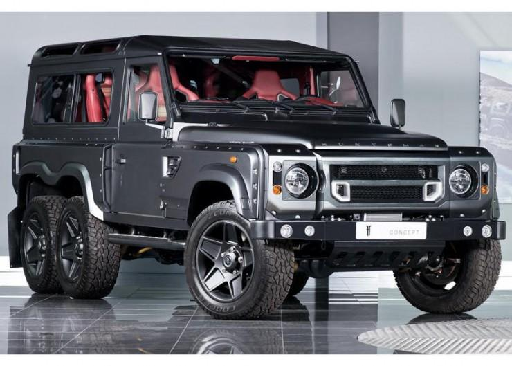 Land Rover Defender 6x6 Kahn Design