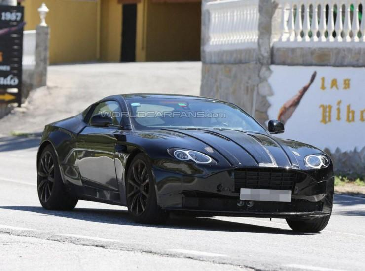 Aston Martin DB11 spy