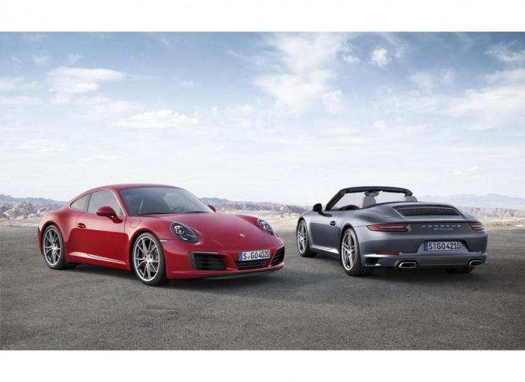 Porsche 911 991 facelifting