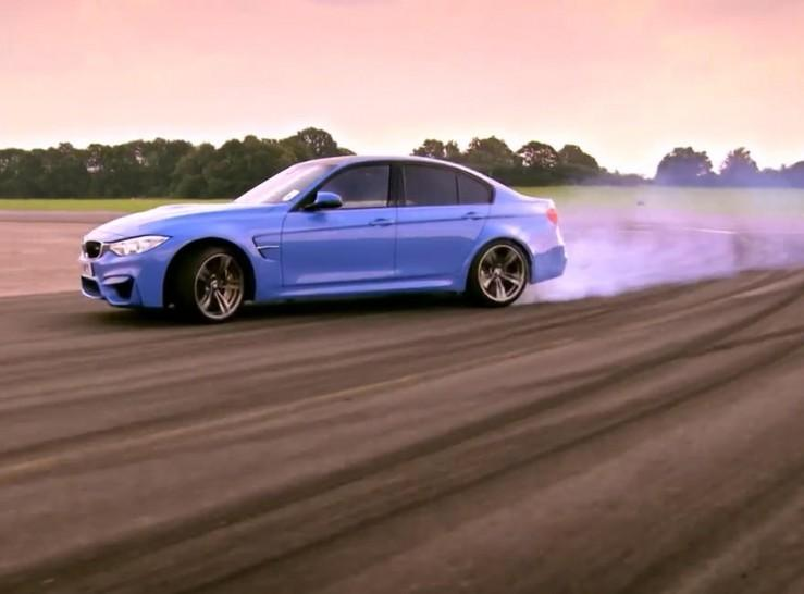 BMW M3 F30 Top Gear