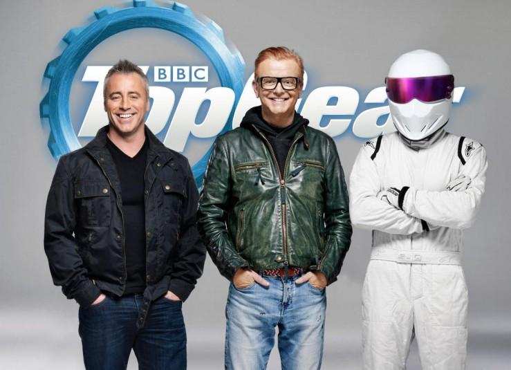 Matt LeBlanc, Chris Evans, Stig Top Gear