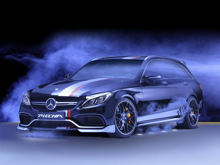 Mercedes-AMG C 63 od Piecha Design