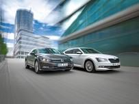 Skoda Superb i VW Passat
