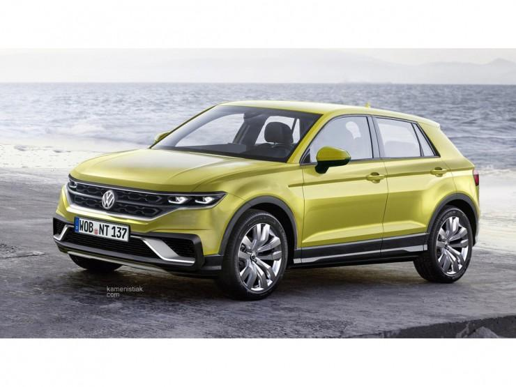 VW Polo crossover