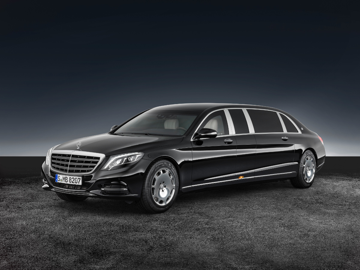 Mercedes-Maybach S600 Pullman Guard - kuloodporny cesarz