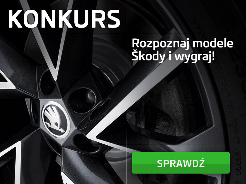 Rozpoznaj modele Skody i wygraj