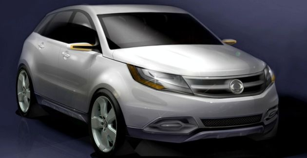 Ssangyong C200 Concept - nie do wiary