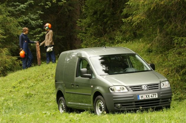 Volkswagen Caddy 4Motion - na cztery łapy